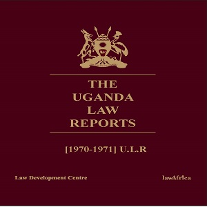 Uganda Law Reports 1970-1971
